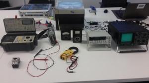 Die technische Ausstattung für Schulungen im Elektrobereich