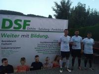 Spieler und Verantwortliche des TSV Ebersdorf, darunter auch Johannes und Flo, die bei uns Ihren Industriemeister gemacht haben