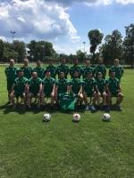 Die Mannschaft des SC Oberlind mit den DSF-Trikots