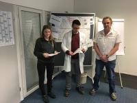 Pneumatik für Azubis bei Rebhan Kunststoffverpackungen in Stockheim