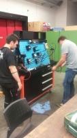 Praktische Unterweisung für Hydraulikfachkräfte der Firma SMIA