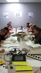 Ausbildung Staplerfahrer bei Zitzmann-Powercast in Stockheim - Theorie