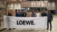 Staplerkurs bei der Firma Loewe in Kronach im Oktober 2020