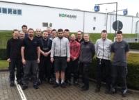 Mitarbeiter der Firma Hofmann im März 2020. Wir führten eine Inhouse-Schulung zum Thema Hydraulik durch.